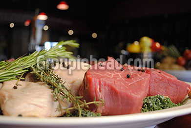 Stock Photography GH01-011 Meat & Fish