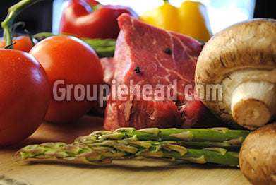 Stock Photography GH01-014 Meat & Vegetables