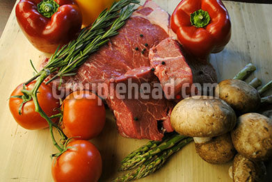 Stock Photography GH01-015 Meat & Vegetables