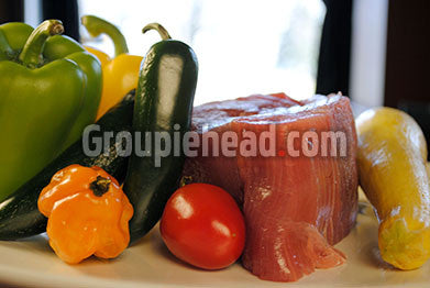 Stock Photography GH01-022 Meat & Vegetables