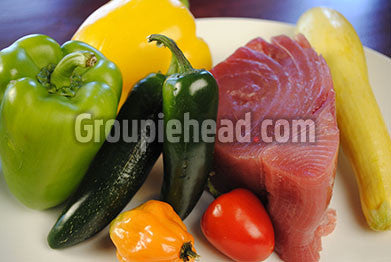 Stock Photography GH01-023 Meat & Vegetables