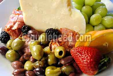 Stock Photography GH01-025 Cheese & Olives