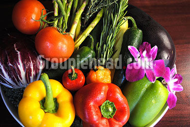 Stock Photography GH01-039 Fruits & Veggies