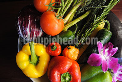 Stock Photography GH01-042 Fruits & Veggies