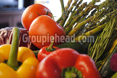 Stock Photography GH01-043 Fruits & Veggies