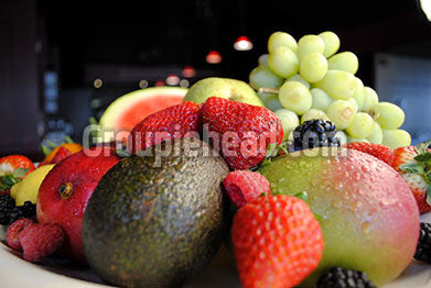 Stock Photography GH01-059 Fruits & Veggies
