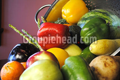 Stock Photography GH01-066 Fruits & Veggies