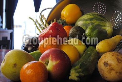 Stock Photography GH01-068 Fruits & Veggies