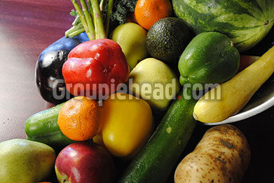 Stock Photography GH01-069 Fruits & Veggies