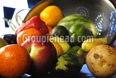 Stock Photography GH01-070 Fruits & Veggies