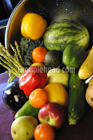 Stock Photography GH01-071 Fruits & Veggies