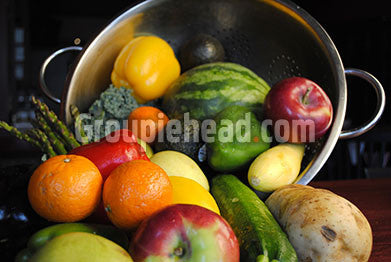Stock Photography GH01-072 Fruits & Veggies