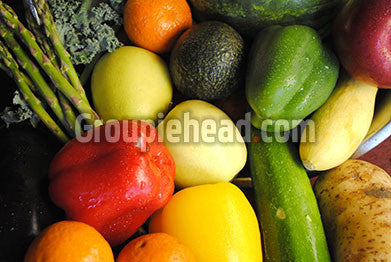 Stock Photography GH01-075 Fruits & Veggies