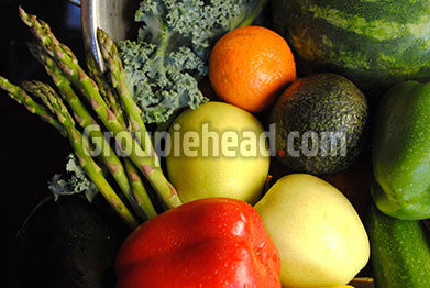 Stock Photography GH01-076 Fruits & Veggies