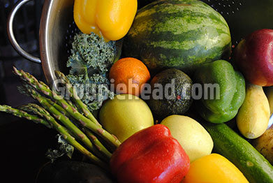 Stock Photography GH01-077 Fruits & Veggies