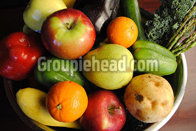 Stock Photography GH01-078 Fruits & Veggies