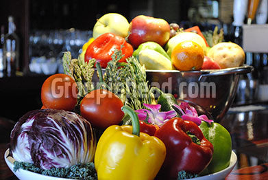 Stock Photography GH01-081 Fruits & Veggies