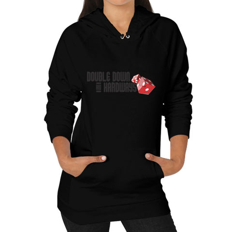 Double Down & Hardways Dice Logo Pullover Sweatshirt (Womens)