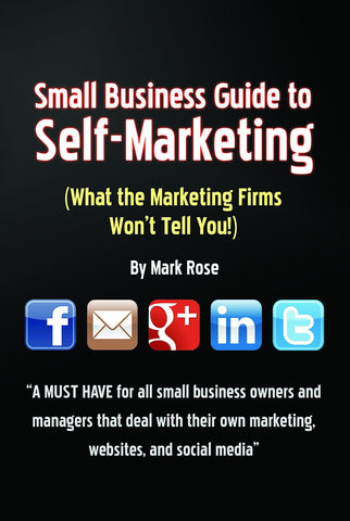 Small Business Guide To Self-Marketing - Softcover Book