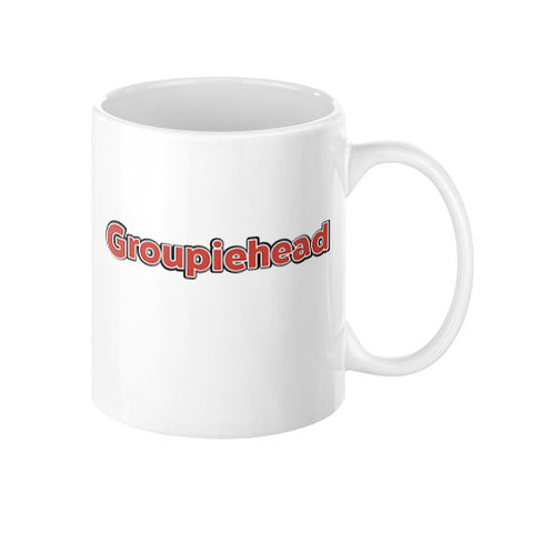 Groupiehead Logo Coffee Mug  GroupieheadShop