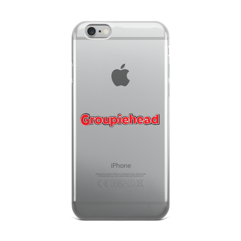 Groupiehead iPhone case