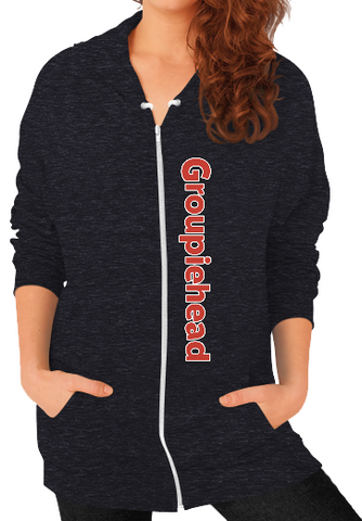 Groupiehead Zip Sweatshirt (Womens)
