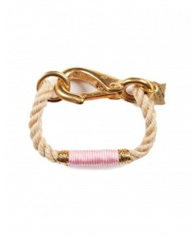 The Camden Rope Bracelet - Pink