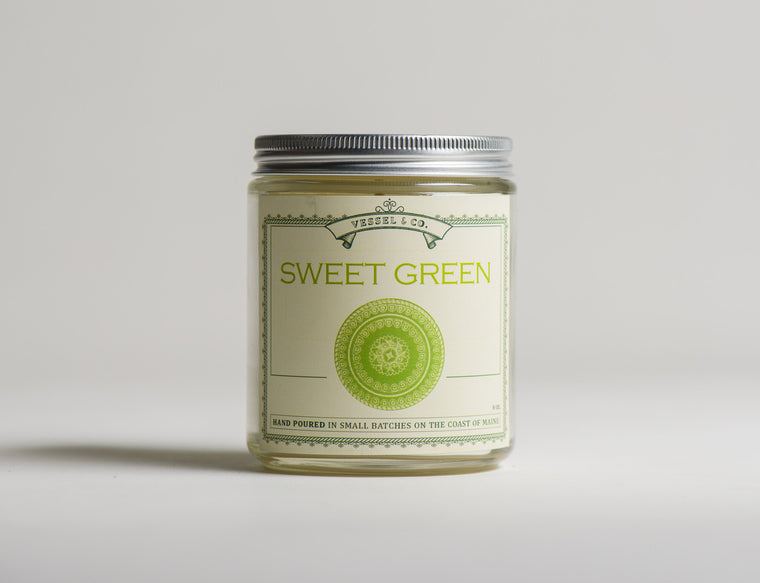 Sweet Green Candle