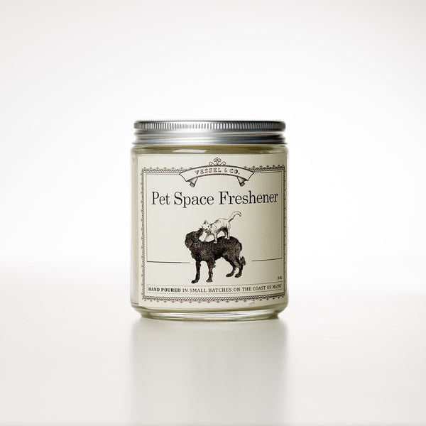 Pet Space Freshener Candle