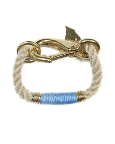 The Camden Rope Bracelet - Ocean Blue