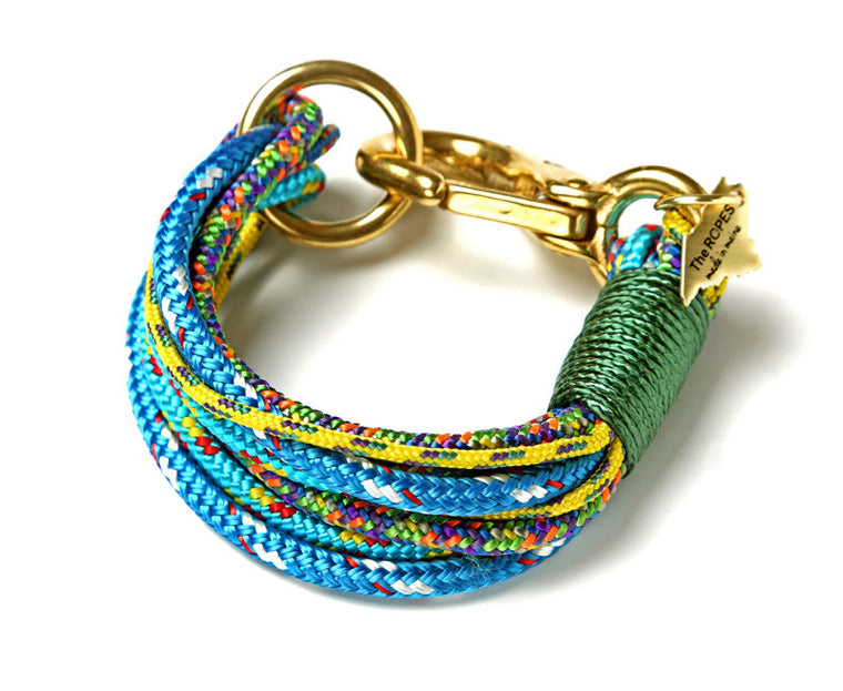 The Portland Rope Bracelet - Green