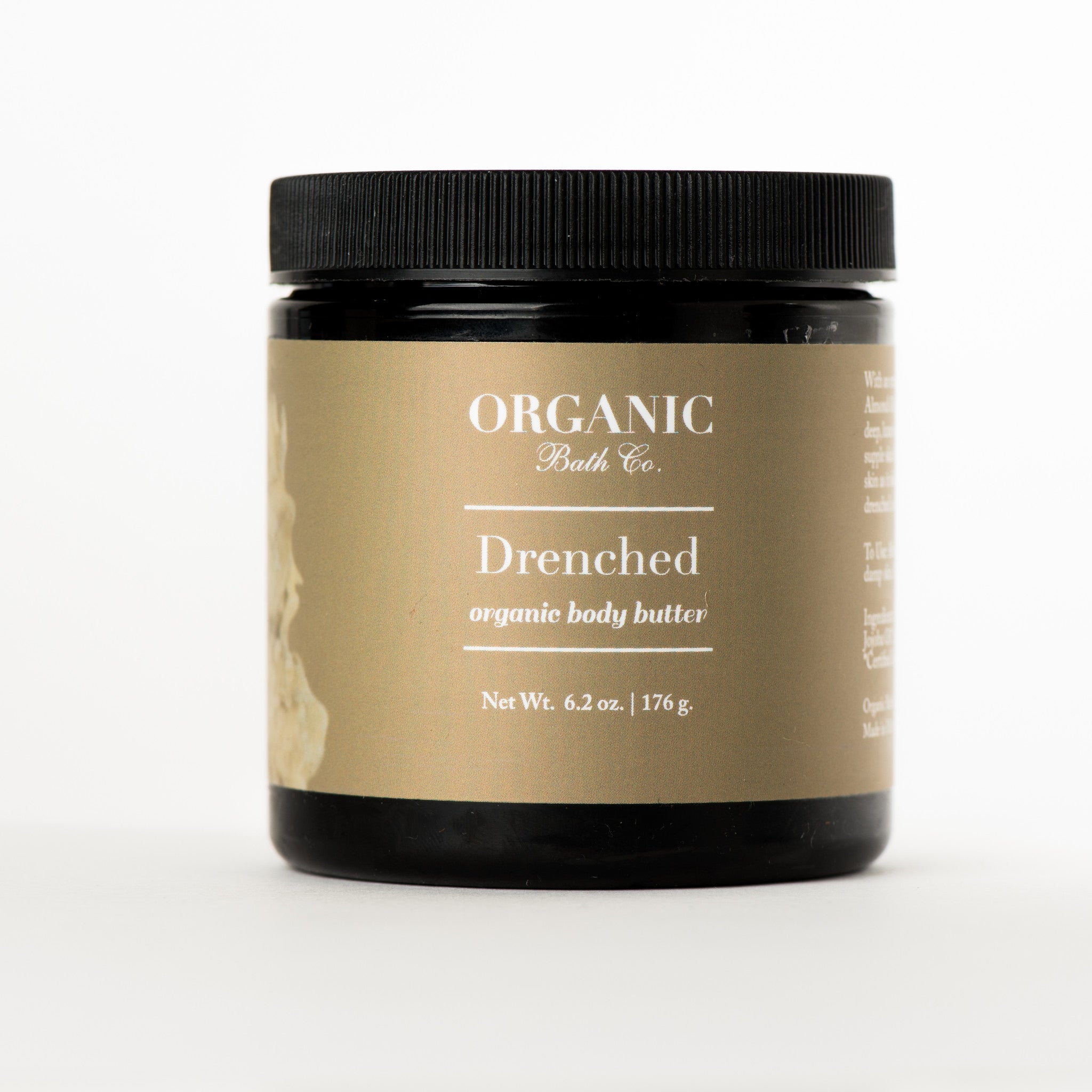 drenched body butter, unscented body lotion