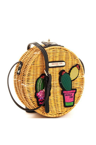Nicole Lee Trendy Circle Crossbody Bag - Boho Bohemian Decor