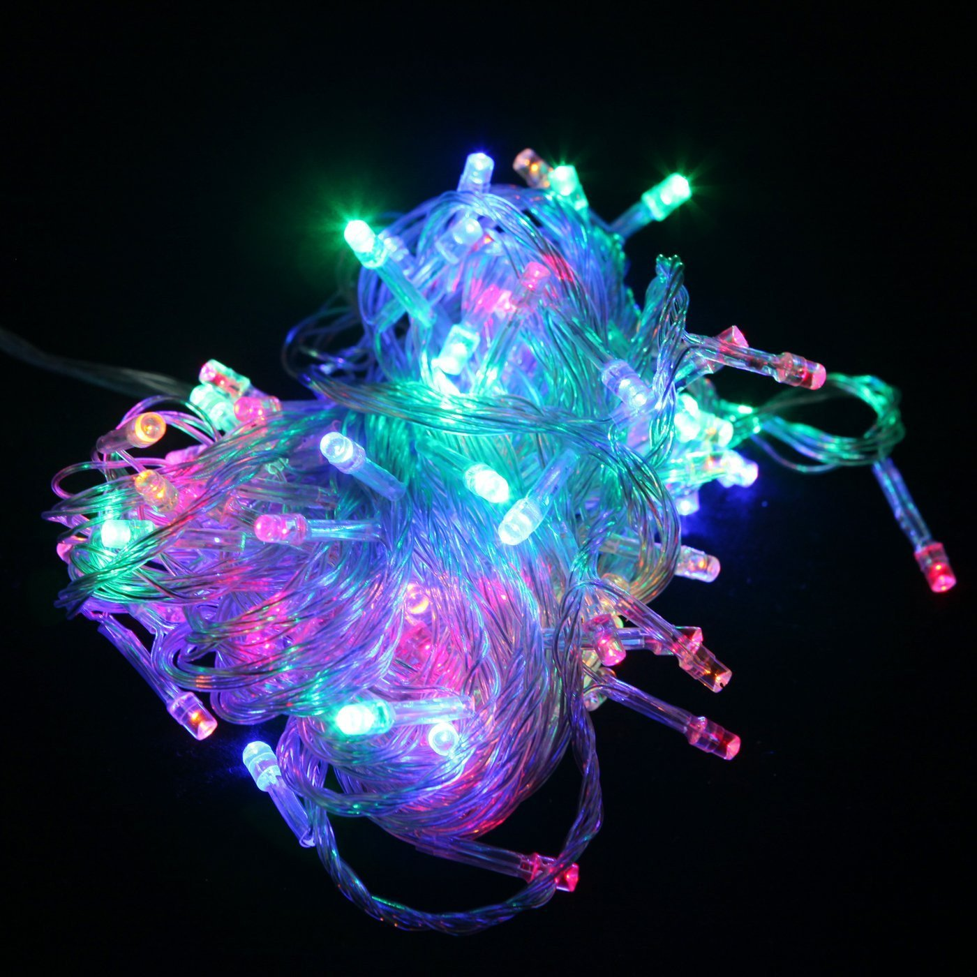 100 LED Indoor Outdoor Window Fairy Boho String Dorm Lights in 9 Colors - GoGetGlam Boho Style