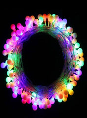 100 Multi Color Globe LED String Lights-GoGetGlam