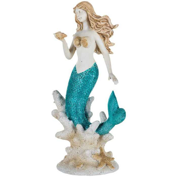 Coral Swim Mermaid Figurine