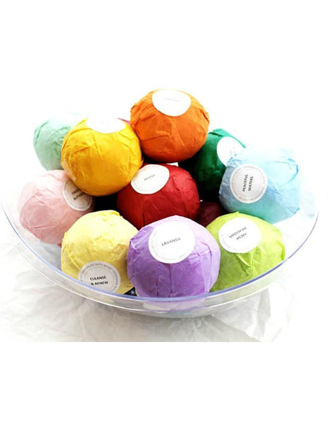 12 PK Moisturizing Spa Bath Bombs XL 4.5oz-GoGetGlam