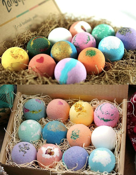 12 PK USA Moisturizing Spa Bath Bombs-GoGetGlam