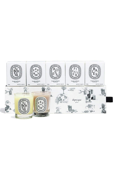 DIPTYQUE Scented Luxury Candle Set - Boho Bohemian Decor
