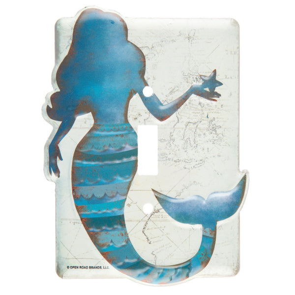 Mermaid Switch Plate - Boho Bohemian Decor