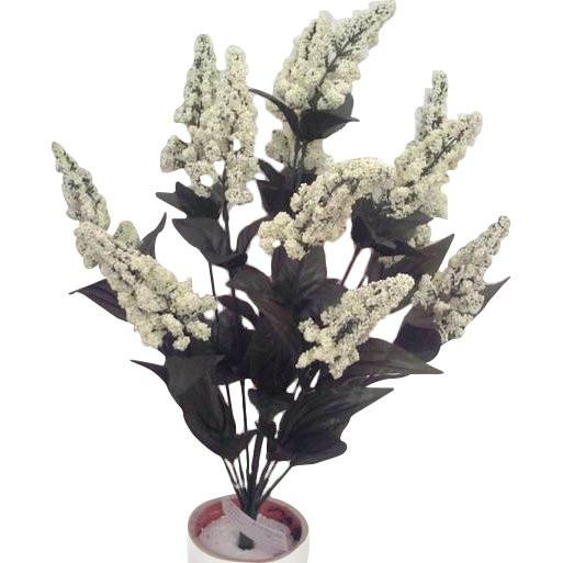 14 Stem Faux Heather Bush in 8 Colors-GoGetGlam