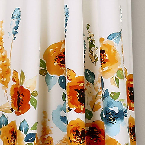 Spring Bloom Curtain Panel Set
