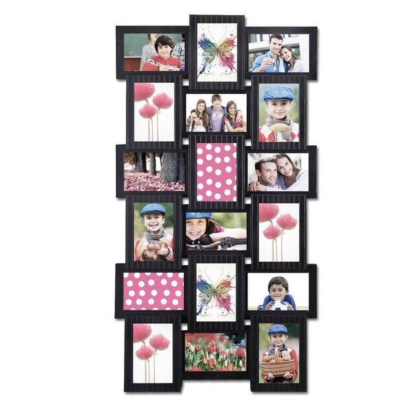 18 Photo Display Collage Wall Frame - GoGetGlam Boho Style