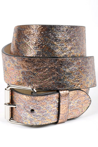 Metallic Leather Strap Belt in 3 Colors-GoGetGlam