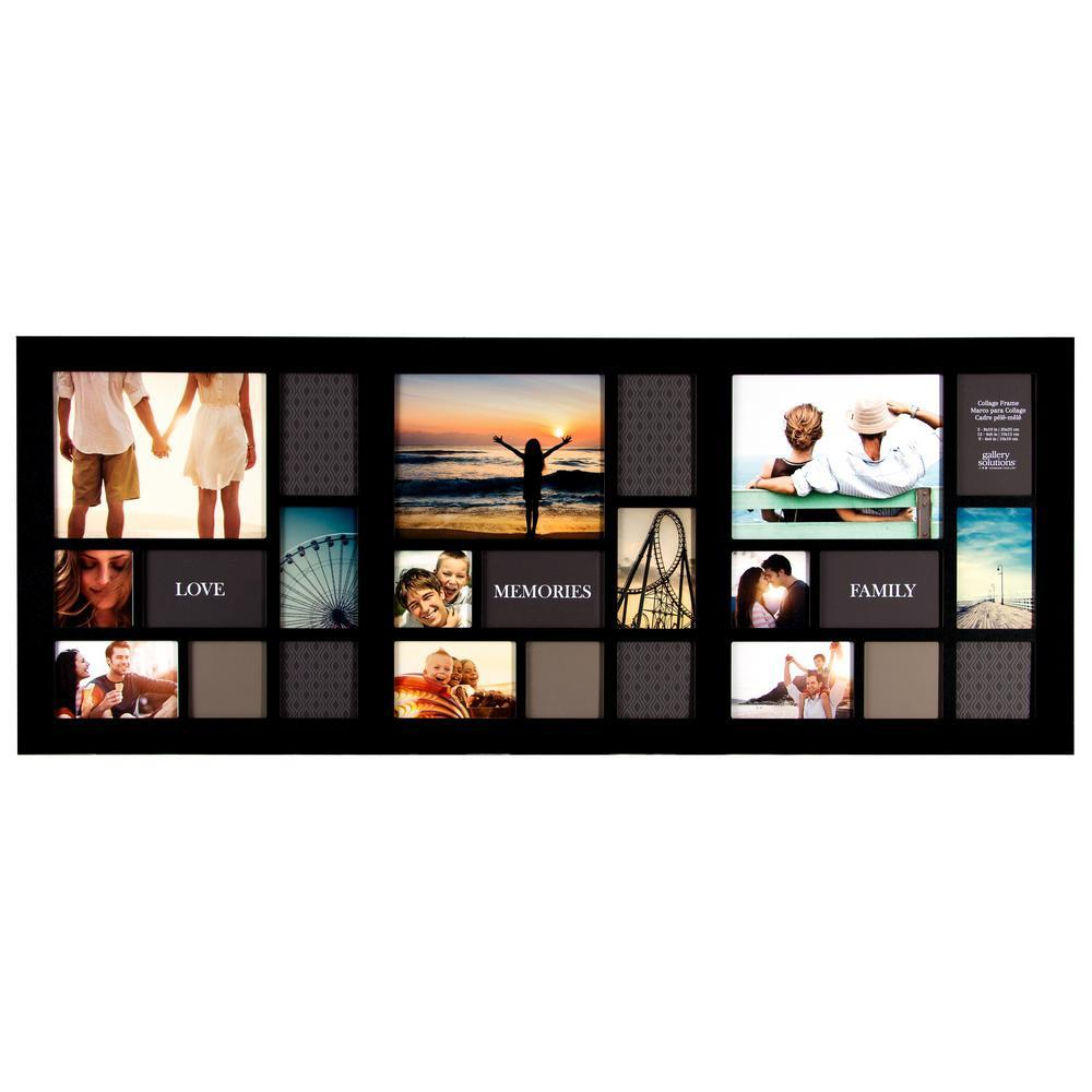 24 Photo Display Collage Wall Frame - GoGetGlam Boho Style