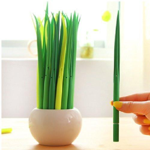24PC Blade of Grass Ballpoint Pens-GoGetGlam