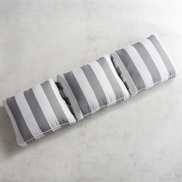 Large Modular Pillow Wedge Back in Dover Pewter-GoGetGlam