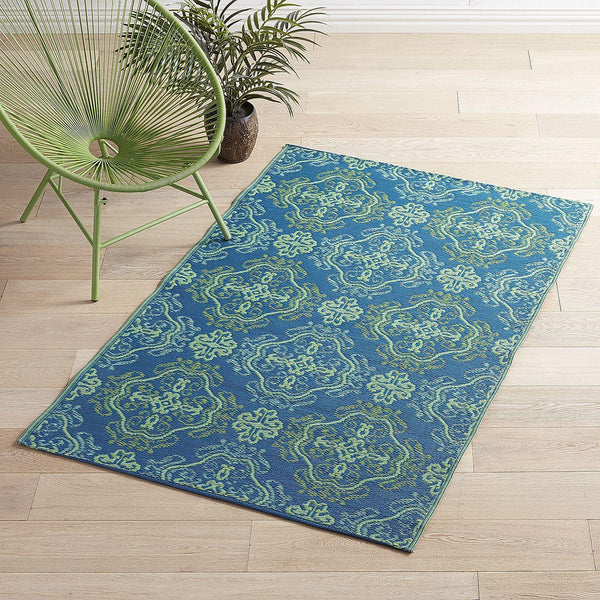 Waterproof Outdoor Boho Medallion 4x6 Rug-GoGetGlam