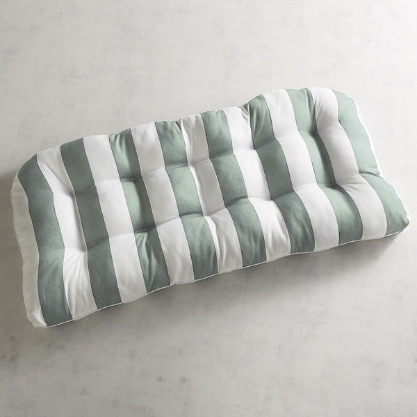 Contour Settee Cushion in Dover Spa Stripe-GoGetGlam
