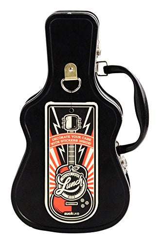Rock n Roll Guitar Case Lunch Box - GoGetGlam Boho Style